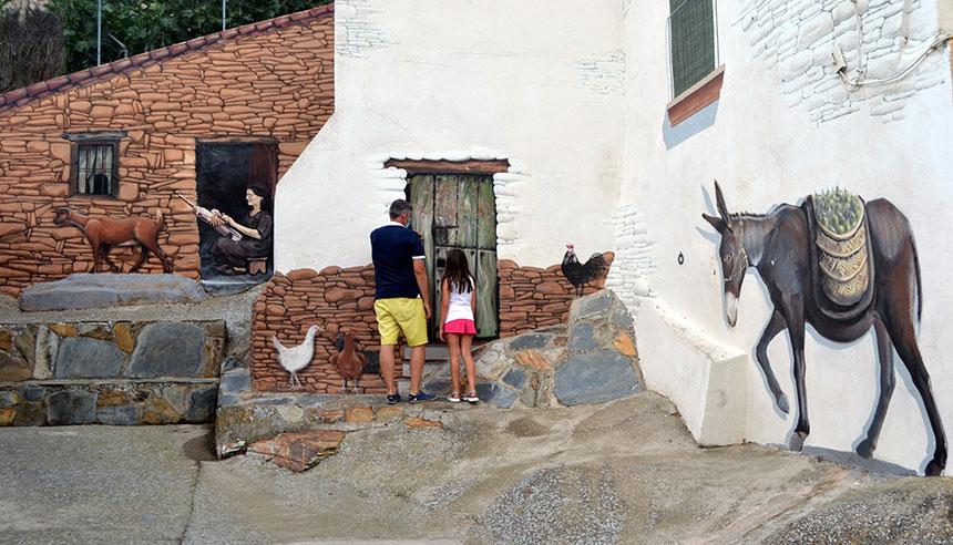 Romangordo, el pueblo cacereño donde nada es lo que parece