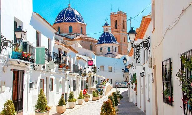 Pueblos de España que merecen ser visitados - Página 4 Altea-calles-t