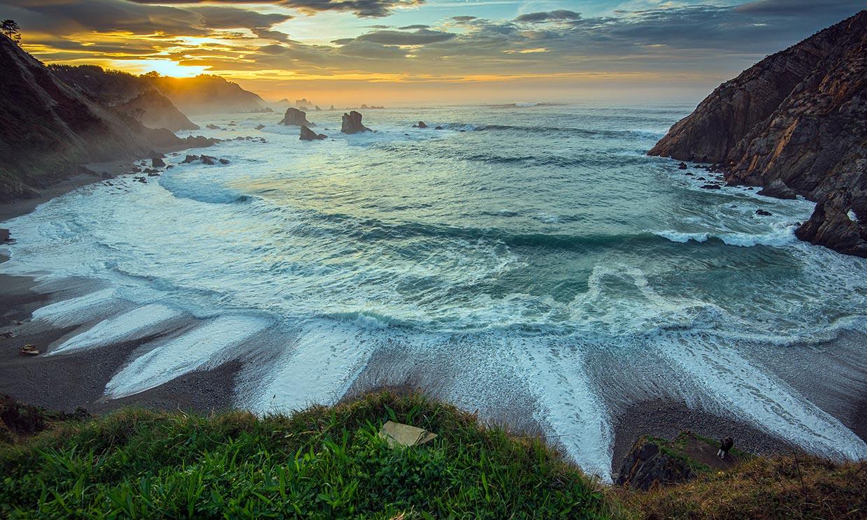 Di adiós al último finde del verano mirando al mar en Asturias