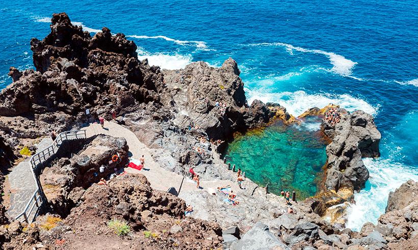 Alargamos el verano en las mejores piscinas naturales de Tenerife