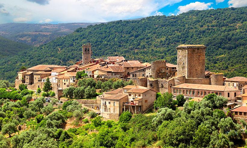 Una cascada, un santuario y una colección de pueblos bonitos en la Sierra de Francia