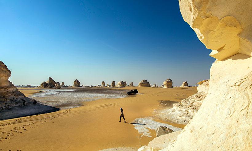 Así es el Desierto Blanco, la joya natural más asombrosa de Egipto