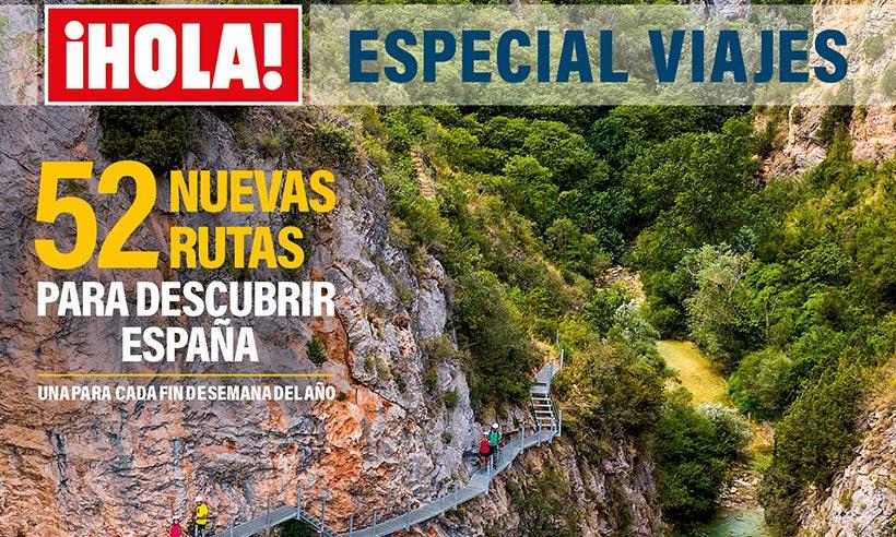 A la venta el nuevo Especial de ¡HOLA! Viajes, con 52 escapadas por España para 2021