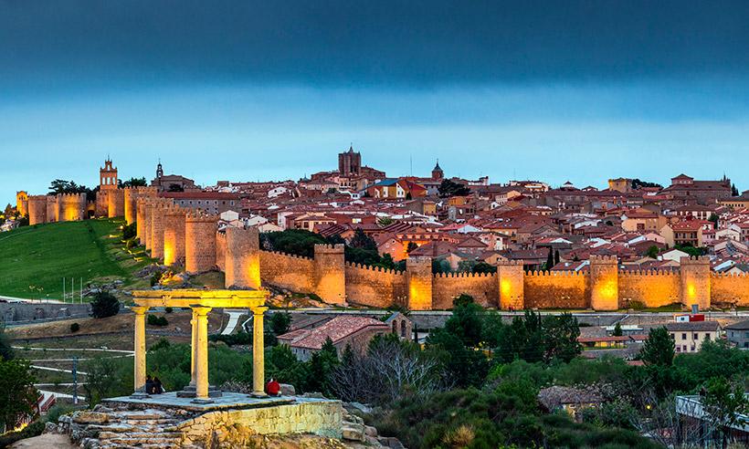 48 horas en Ávila, la ciudad amurallada