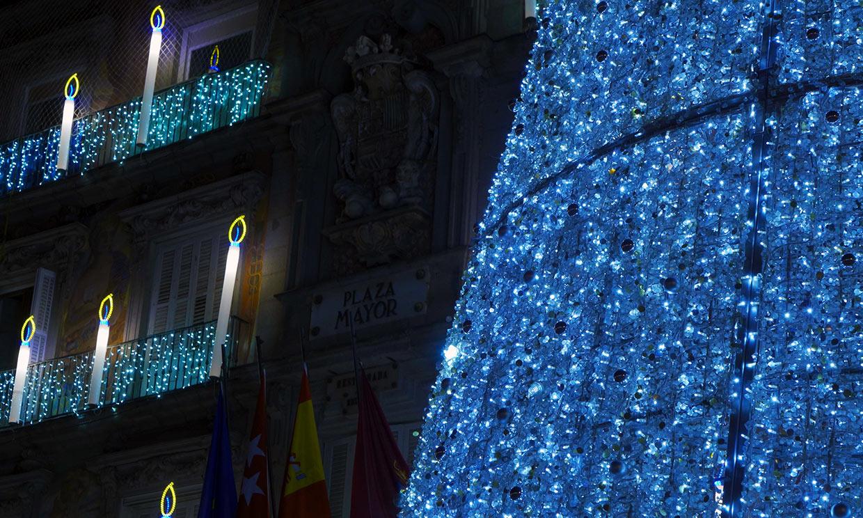 Y se hizo en la luz… en las calles de Madrid por Navidad