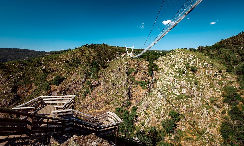 Las pasarelas de Paiva y el puente peatonal más largo del mundo