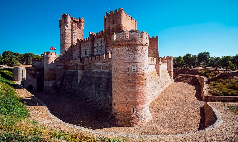 La Mota, el castillo favorito de los Reyes y el de los niños de Masterchef junior
