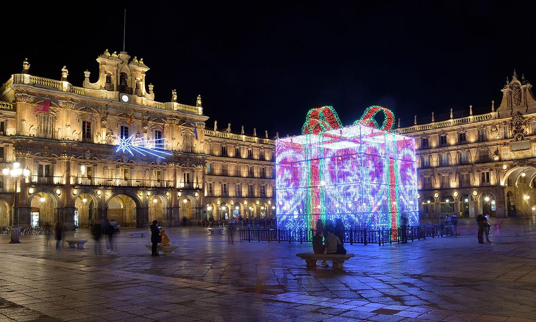 Las ciudades españolas que más brillan esta Navidad