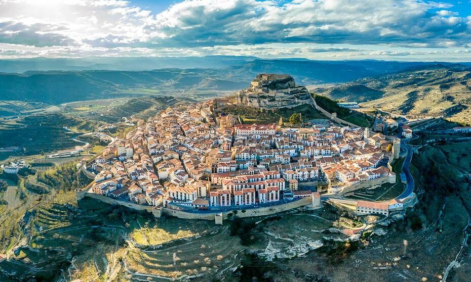 Pueblos de España que merecen ser visitados Morella-panoramica-t