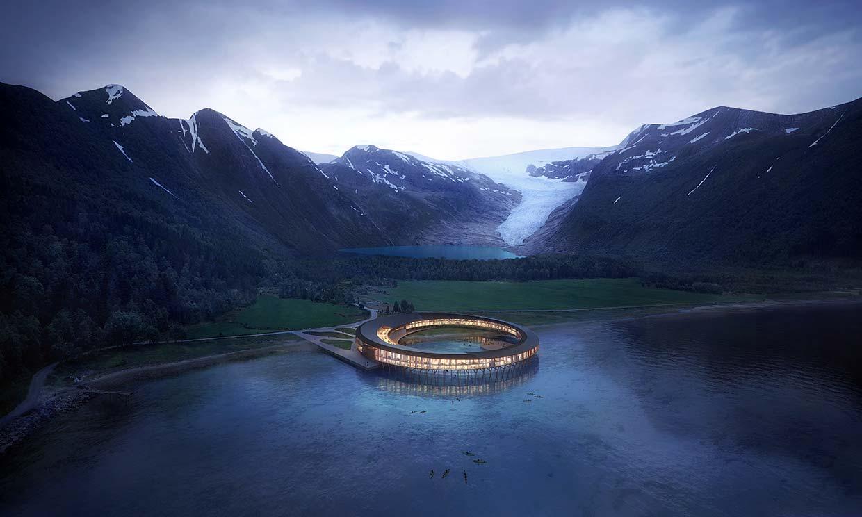 El hotel más ecológico del mundo, pura energía positiva en el Ártico