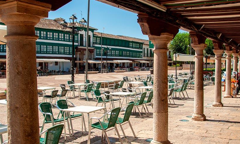 Almagro, un pueblo bonito y dos impresionantes fortalezas