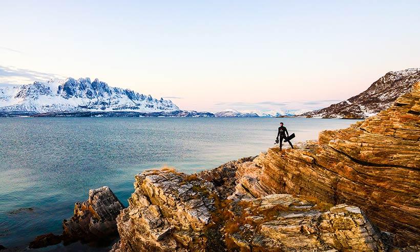 La búsqueda de lo salvaje en los helados fiordos noruegos