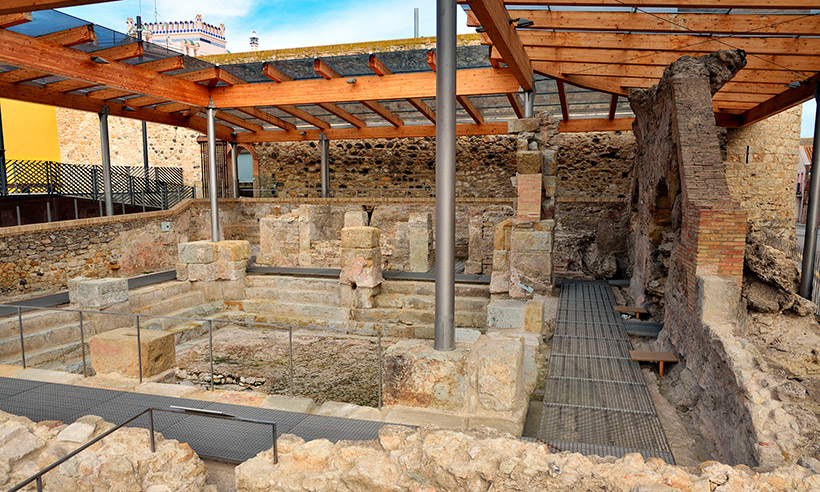 Caldes de Malavella, de las termas romanas al Vichy Catalan