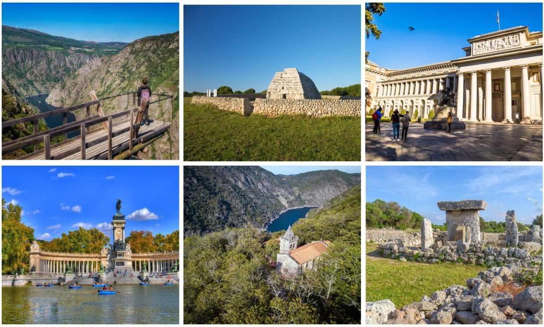 ¿Sabes qué tres candidatas españolas se postulan a Patrimonio de la Humanidad?