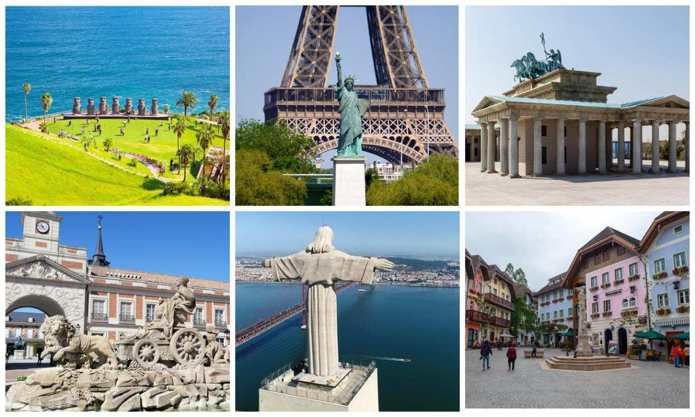 ¿Original o copia? Los monumentos más famosos del mundo tienen su réplica