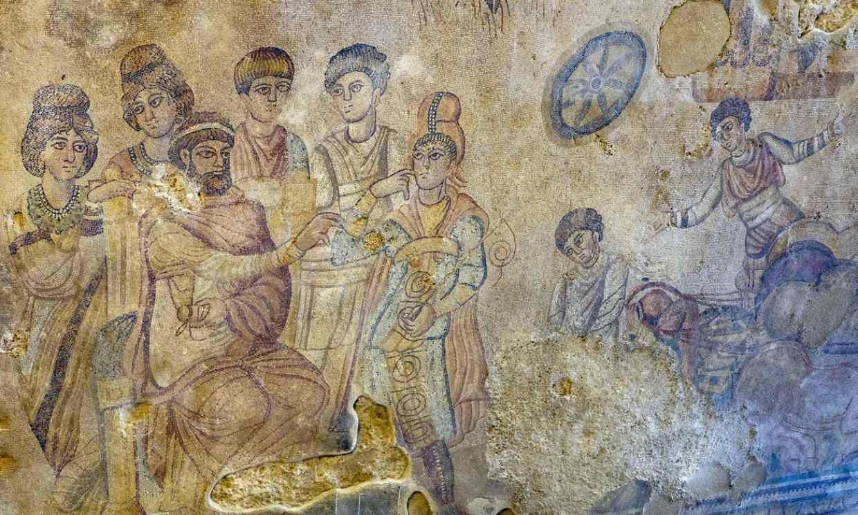 El mosaico romano más grande del mundo está en un pueblo de Cuenca