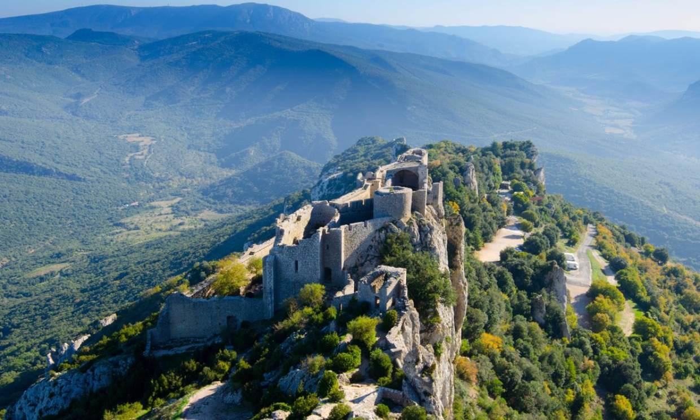 De ruta por los castillos cátaros del sur de Francia