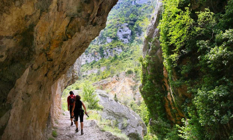 El desfiladero del Purón, la ruta más bella y secreta entre Álava y Burgos