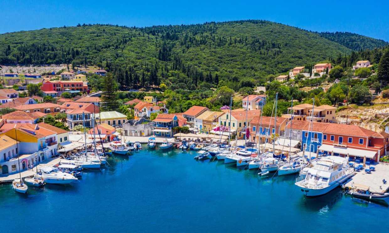 Hemos descubierto Fiskardo, el Portofino griego