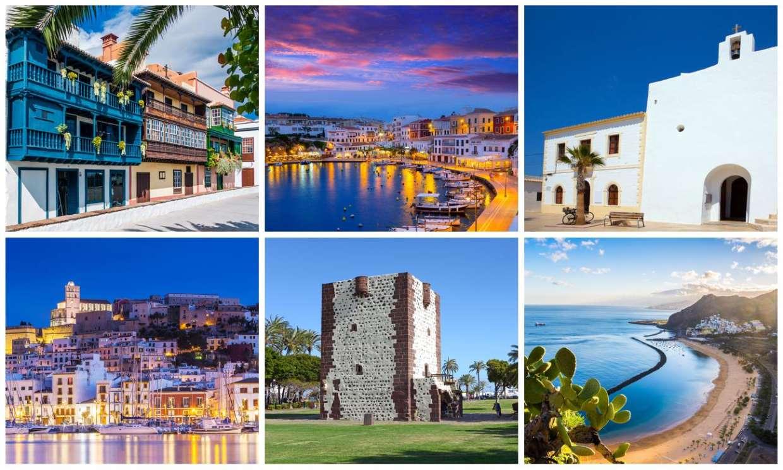 ¿Conoces las capitales de todas las islas españolas?