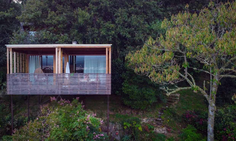 Las cabañas en los árboles gallegos que son puro diseño