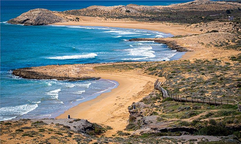 Una ruta para 'nature lovers' por la costa de Murcia en 9 paradas