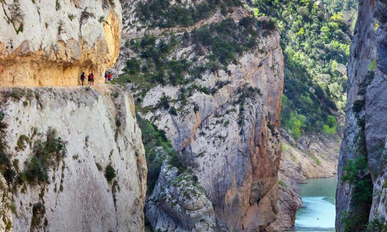 Congost de Mont-rebei, el desfiladero más emocionante a las puertas del Pirineo