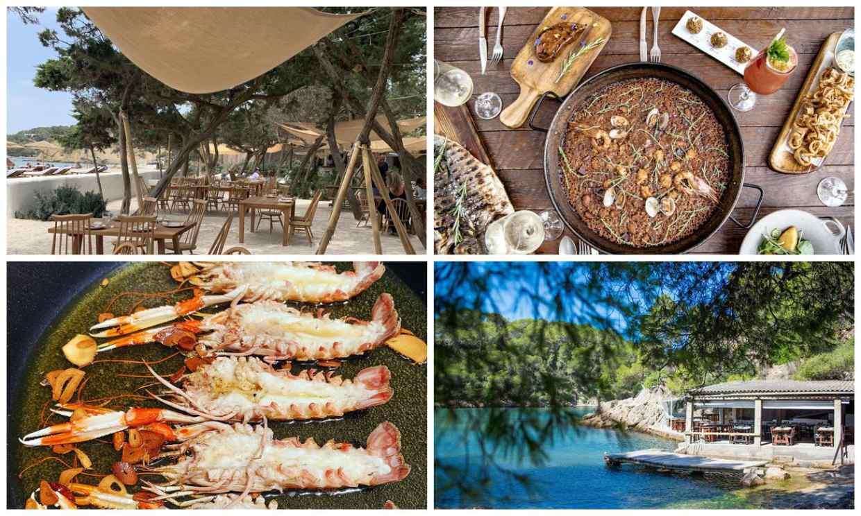 Los mejores restaurantes de Ibiza para comer junto al mar