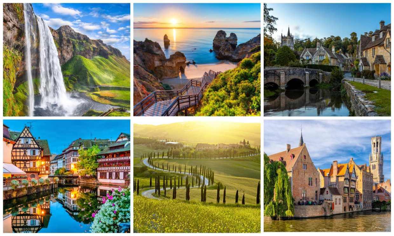 Lugares que ver en Europa antes de morir (más allá de sus capitales)