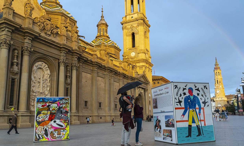 Cita con Goya en Zaragoza para celebrar su aniversario
