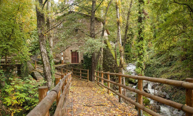 El valle de Ambroz o el otoño más bello de España