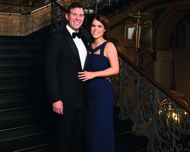 Eugenia de York y Jack Brooksbank