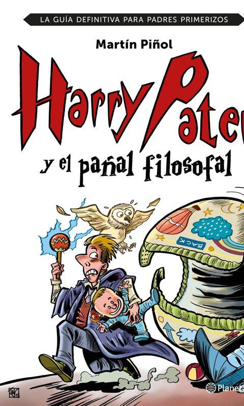 Libro Harry Pater y el pañal filosofal