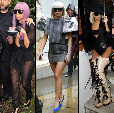 Lady Gaga Estrella Del Pop Y Enigm 193 Tico Icono De Moda