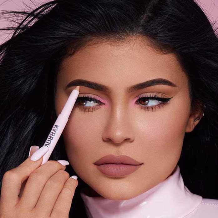 Kylie Jenner y sus 'makeup' looks soñados