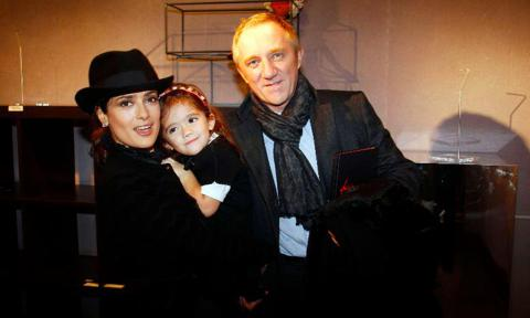 Salma Hayek S Daughter Valentina Paloma Turns 12 Photo 1