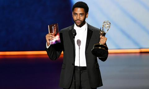 Jharrel Jerome at the 2019 Emmy