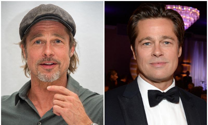 Brad Pitt looks impeccable with or without a beard