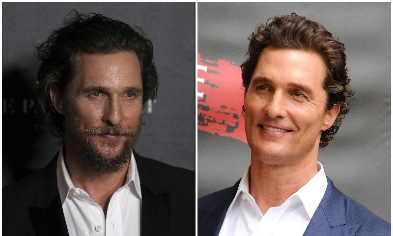 Matthew McConaughey looks amazing with or without a beard