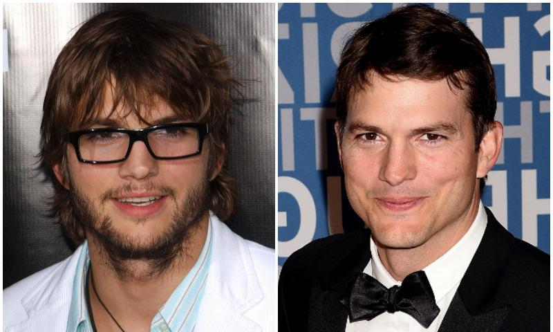 Ashton Kutcher has shown us that he looks amazing with and without a beard