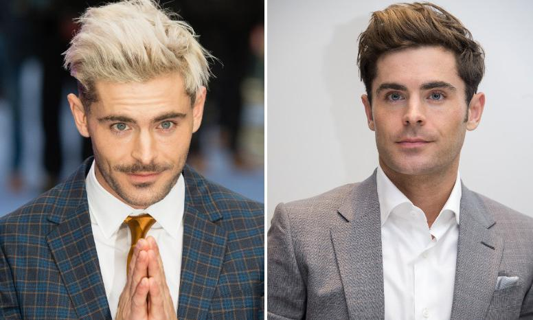 Zac Efron is going through a new stage that his fans love: silver hair and a beard!