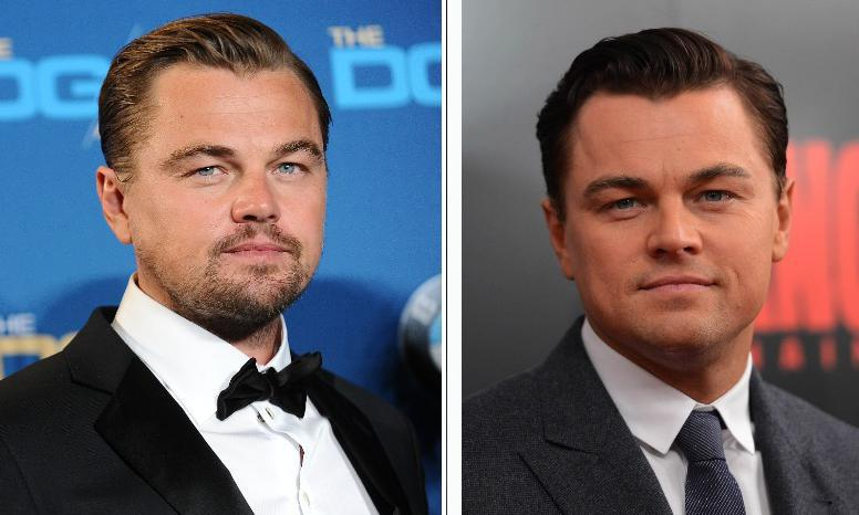 Leonardo DiCaprio's current look includes a beard
