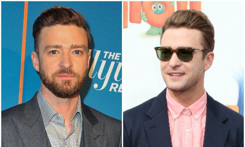 Justin Timberlake sparks controversy because of his bearded and his beardless looks