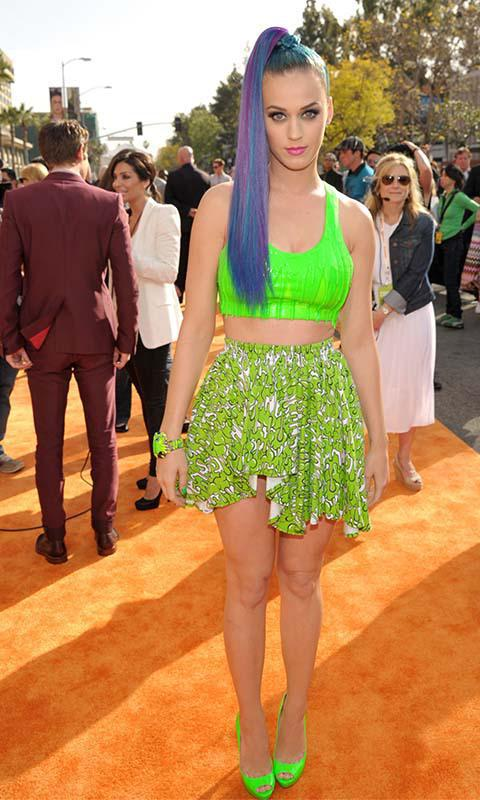 Katy Perry su color favorito