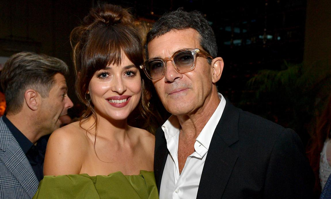 Dakota Johnson and Antonio Banderas