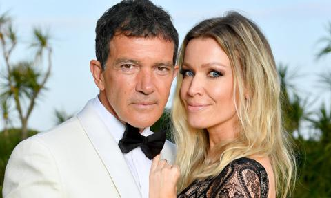 Antonio Banderas revealed how his girlfriend Nicole Kimpel saved his life