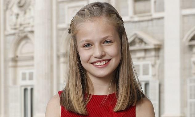Princess Leonor turns 14