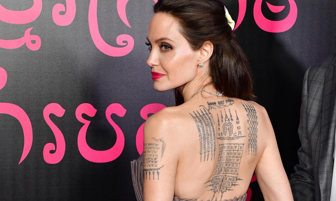 Angelina Jolie Tattoos 2019: Angelina Jolie's Tattoos: What ´s Their Secret Meaning?