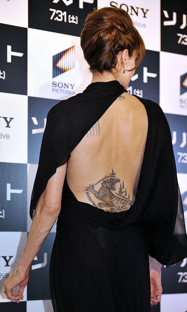 Angelina Jolie Tiene Muchos Tatuajes Sabes Que Significan