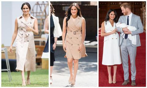 Meghan Markle trench dress by House of Nonie